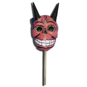 Paper Mache Devil Maraca Arts, Crafts & Sewing