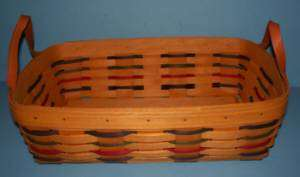 Longaberger 2000 Classic Woven Traditions PANTRY Basket