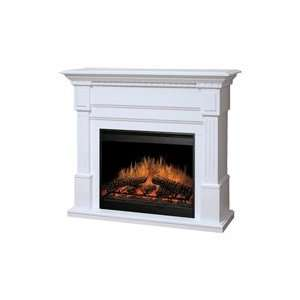 Dimplex Essex Electric Fireplace   White
