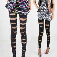 Fashion Faux Leather Punk Gothic Legging Tights Pants