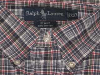 Mens Ralph Lauren Oxford Polo Shirt, Lot of 5 (XXL)