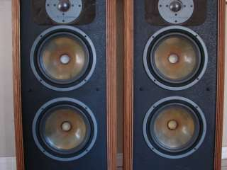 VINTAGE INFINITY RSIIIB RS3B LARGE TOWER SPEAKERS NICE