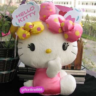 13 Hello Kitty soft fill doll plush toy large KT D16L