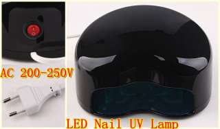1pc TOP LED Nail Gel Cure Lamp UV Dryer Heart Shape J0584