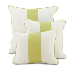 Oilo Spring Green Band Pillow