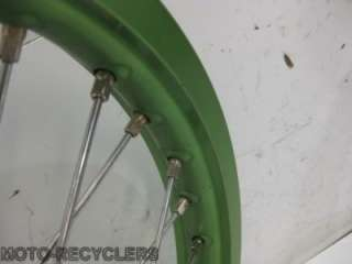 06 KX450F KX450 KXF450 front rear wheel set wheels 35