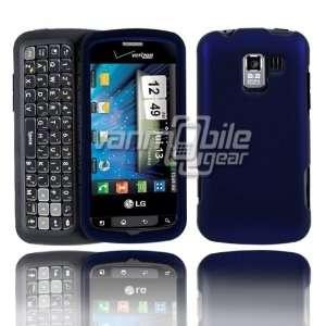 VMG LG Enlighten Hard Case Cover 3 Item Combo   BLUE Hard 2 Pc Plastic
