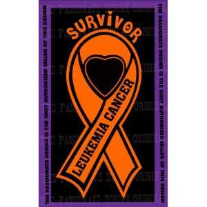 Leukemia Cancer Ribbon Decal 4 X 7 Everything Else