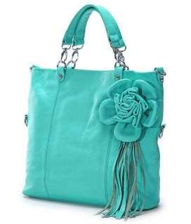 Genuine Leather Bag Purse Handbag Satchel Tote 7 colors
