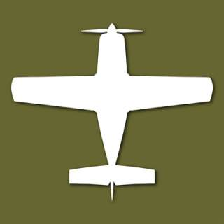 Glasair Super II Kit Plane Vinyl Decal Sticker VSGLS2T