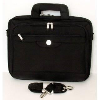 Genuine DELL Black Nylon Laptop Notebook Carry Case Tote