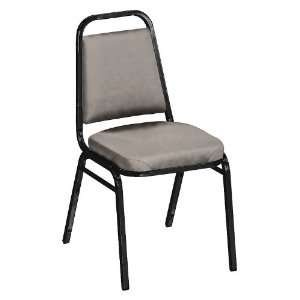 KFI Square Back Vinyl Stack Chair with 2 Seat Office