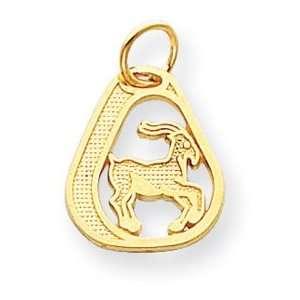 Genuine IceCarats Designer Jewelry Gift 14K Capricorn