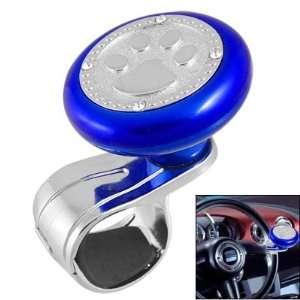 Pattern Rhinestone Decor Round Auto Car Steering Wheel Kob Automotive