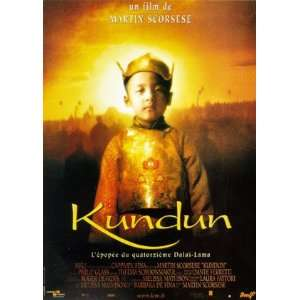 KUNDUN (LARGE   FRENCH   ROLLED) Movie Poster