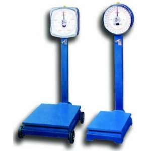 Restaurant Scales Omcan FMA (DPS100KG220LB) Two Dial Platform Scales