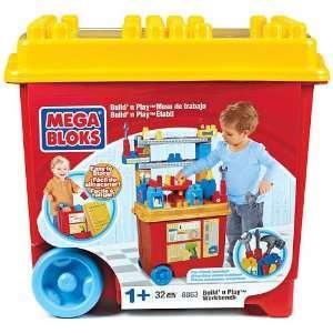Mega Bloks Work Bench Build n Play Toys & Games
