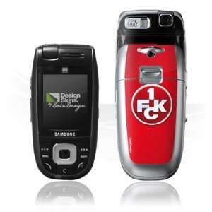 Design Skins for Samsung E860   1. FCK Logo Design Folie