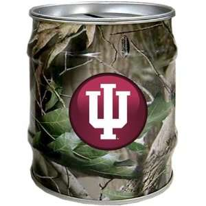 Indiana Hoosiers IU NCAA Realtree Tin Bank Sports