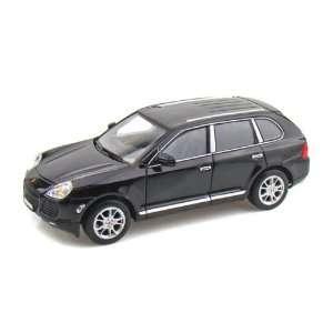Porsche Cayenne Turbo 1/24 Black Toys & Games