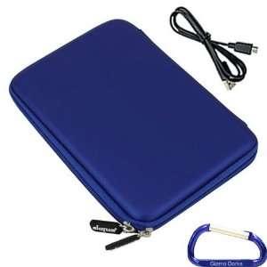 Gizmo Dorks Hard EVA Cover Case (Blue) and Mini USB Cable
