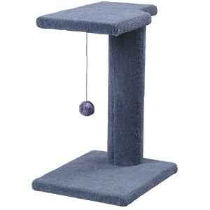 Cat Perching Tower with Toy  Color BLUE Pet Supplies