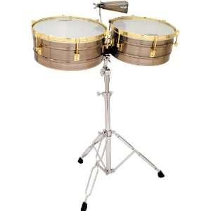 Lp Matador Timbales Brushed Nickel: Musical Instruments