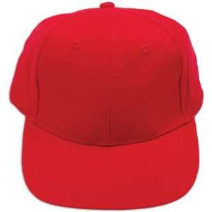 Youth Twill Cap Youth Solid Brushed Twill Cap Red