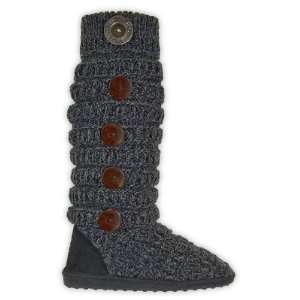 MukLuks 0017688001 Womens Marled Texture Strip Boot Baby