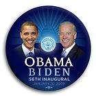 President Barack Obama Biden Photo Political Pin Button ~ 56th