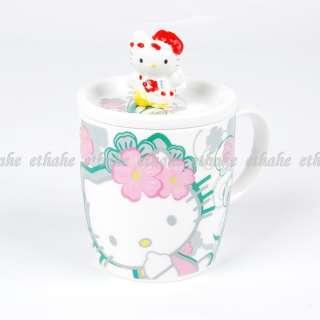 Hello Kitty Figure Porcelain Coffee Cup Tea Mug 2K5V