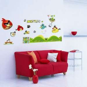 Angry Bird II   Nursery Removable Vinyl Wall Sticker Mural