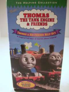 Thomas & Friends Help Out VHS Tape 013132121536