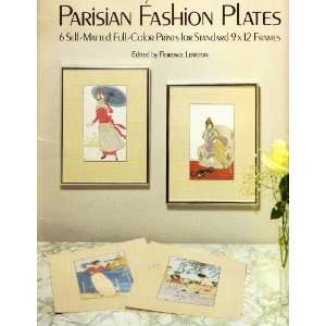 Ready to Frame Parisian Fashion Plates (9780486256191