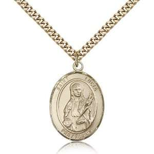 IceCarats Designer Jewelry Gift Gold Filled St. Lucia Of Syracuse