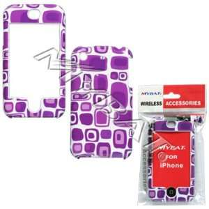 APPLE iPhone Purple Patterns Phone Protector Cover