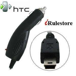 High Quality Mini USB 12/24V Rapid Travel Car Charger Adaptor for HTC