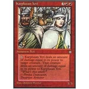 Magic the Gathering   Karplusan Yeti   Ice Age Toys & Games
