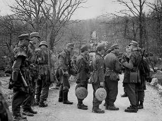 RECORD GERMAN MOUNTAIN HUNTSMEN EDELWEISS WW2 ANTIQUE SWISS HIGH GRADE
