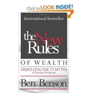 The New Rules of Wealth (9780956389800): Ben Benson: Books