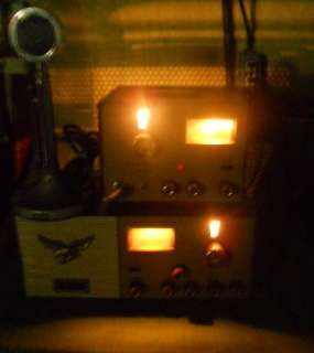 Ham Radio Browning Golden Eagle Mark II Receiver & Transmitter