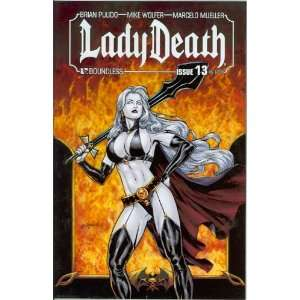 Lady Death Ongoing #13: Brian Pulido and Mike Wolfer: Books
