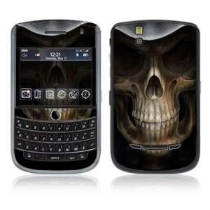 BlackBerry Tour 9630 Decal Skin   Skull Dark Lord