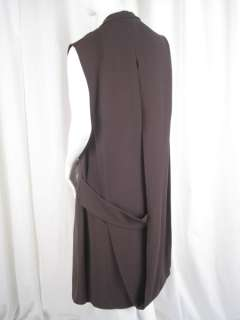 2775 Jil Sander Runway Jacket Top Dress L M #0004MK