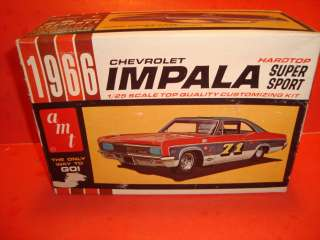 AMT 1966 Chevy Impala Model Car Parts