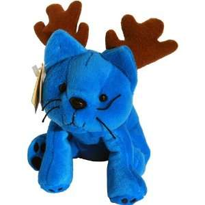 Reindeer Blue Logo Cat    Paw Pals Beany Plush Toys & Games