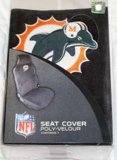 NFL NIB CAR SEAT COVER   MIAMI DOLPHINS