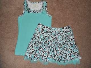 Size 16 18 HUGE Justice Limited Too Girls Summer Lot Short Tanks