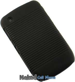 HARD CASE + BELT CLIP HOLSTER FOR BLACKBERRY CURVE 8520 8530