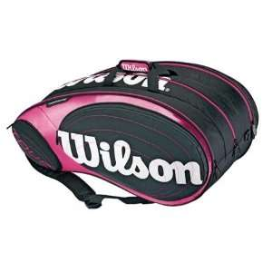Wilson Tour Pink 15 Pack Bag Wilson Tennis Bags Sports